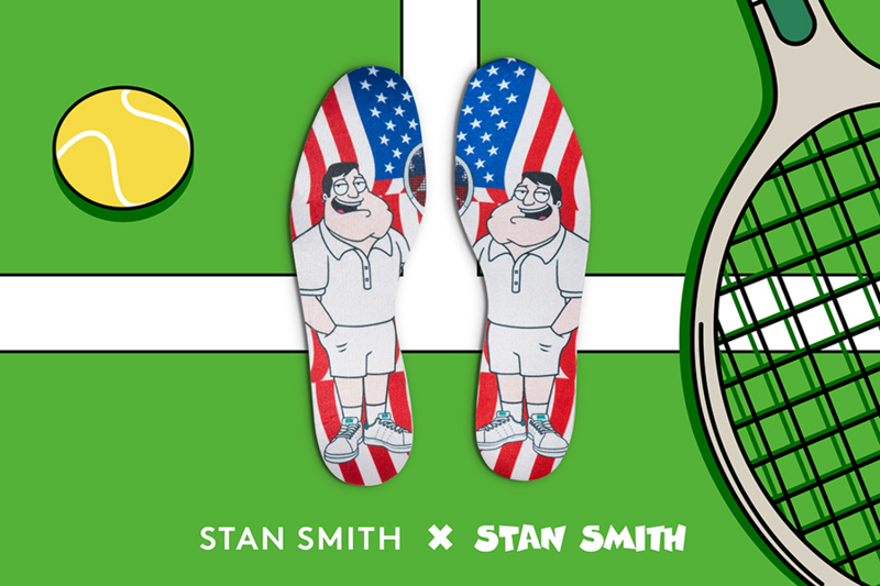America Dad x adidas originals Stan Smith