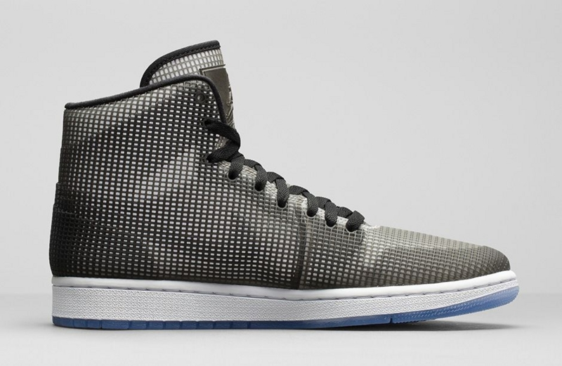 JORDAN 4LAB1 Black/Reflective Silver