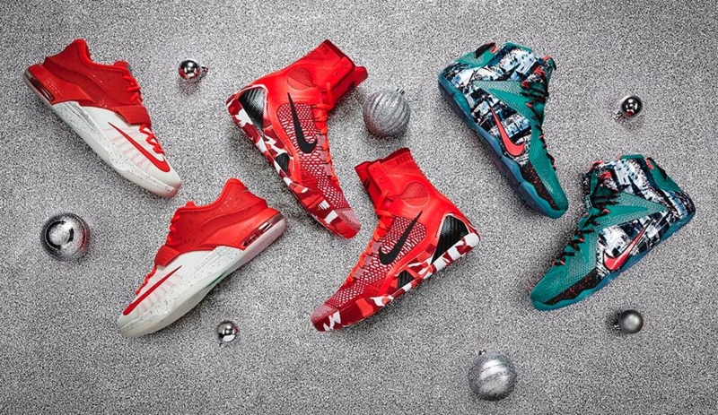 NIKE BASKETBALL CHRISTMAS 2014 COLLECTION