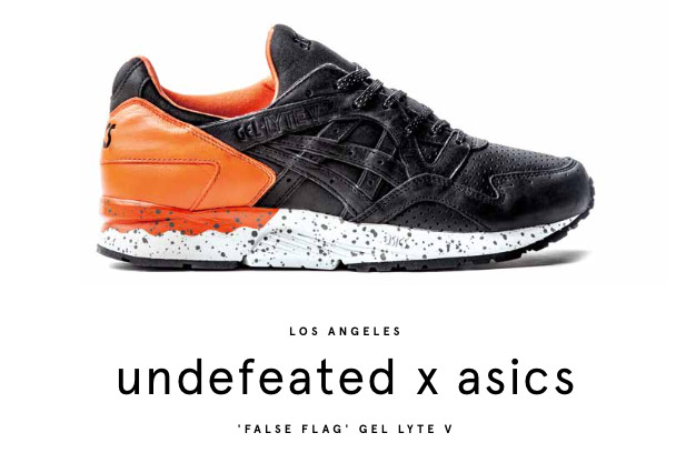 Undefeated x Asics Gel Lyte V False Flash
