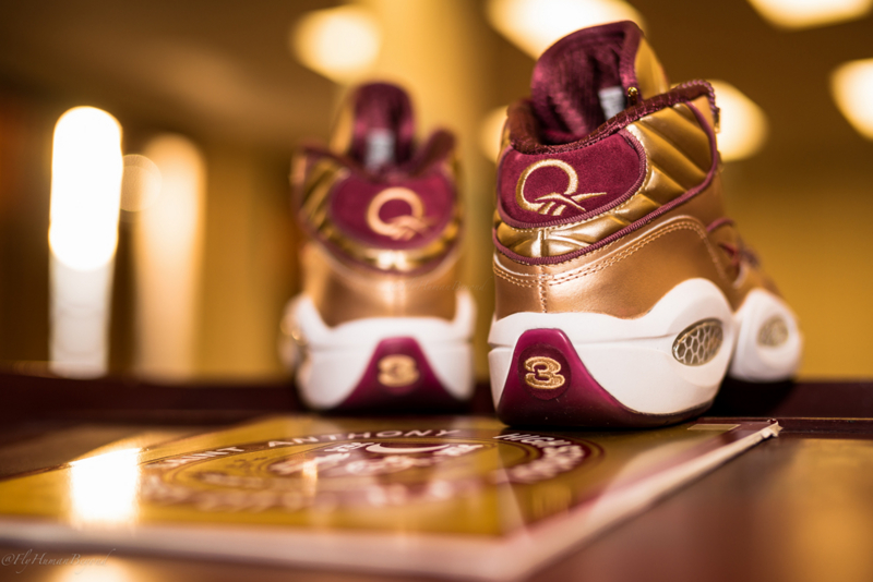 Packer Shoes x Reebok Question Saint Anthony High Scholl