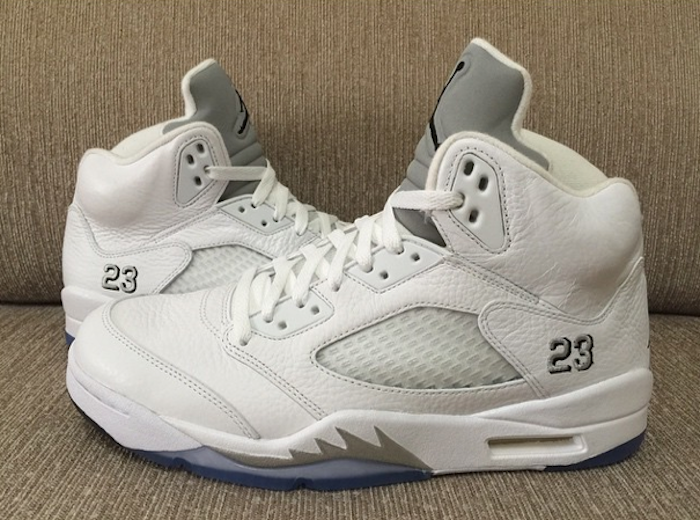 Air Jordan 5 Retro Metallic Silver