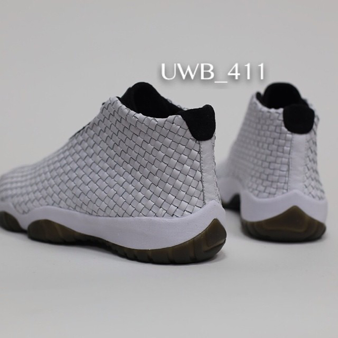 Air Jordan Future PRM Meatallic Silver Sample