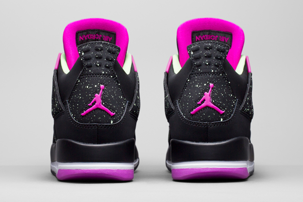 Air Jordan 4 Retro Girls FUSCHIA