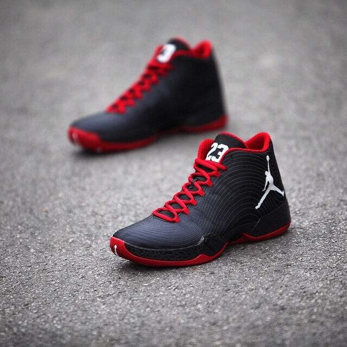 Air Jordan XX9 Black/Gym Red