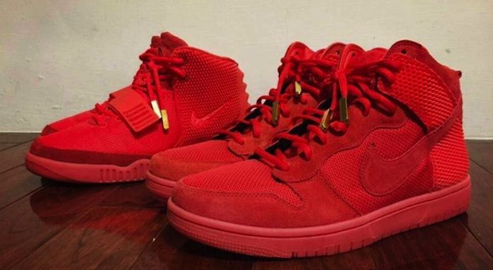 Nike Dunk High CMFT Premium QS Red October