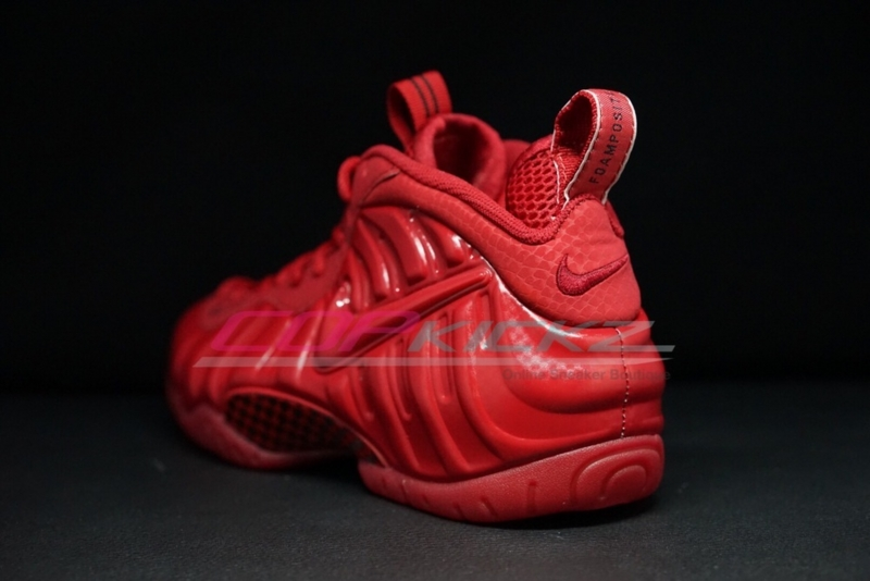 Air Foamposite Pro Gym Red