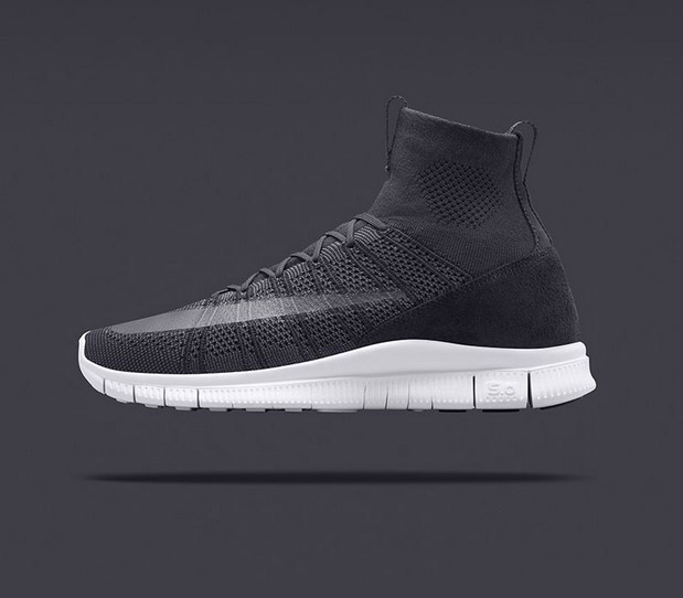 Nike Free Flyknit Mercurial SP Dark Grey