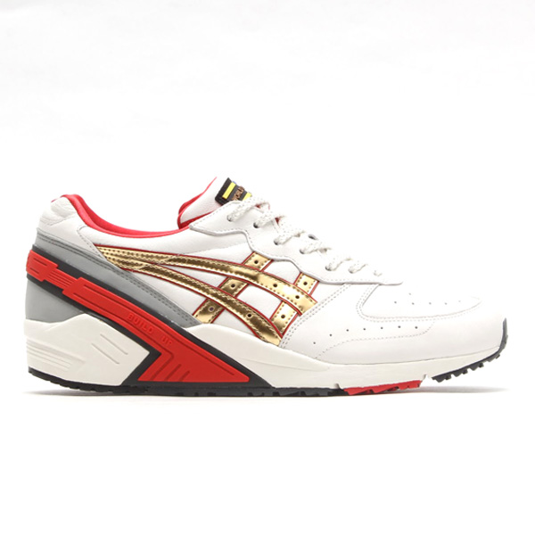 ASICS GEL SIGHT OFF WHITE/CHAMPAGNE GOLD