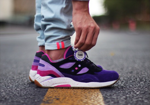 Feature x Saucony G9 Shadow 6 High Roller Pack The Burney