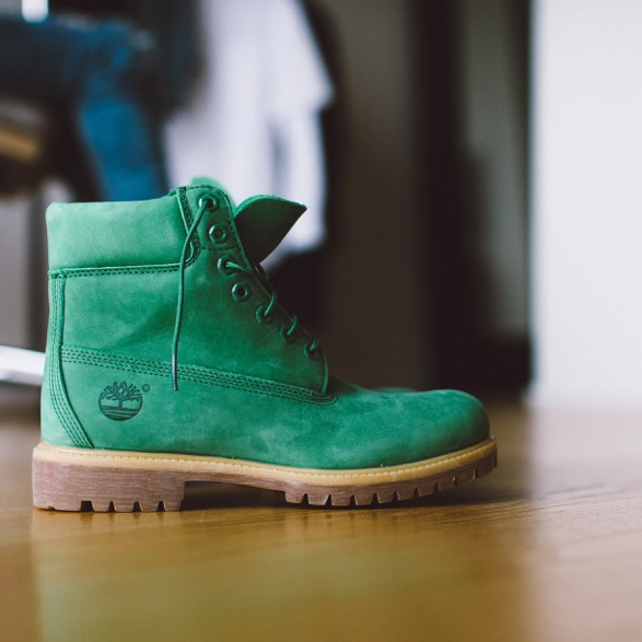 Timberland 6inch Boot Emerald