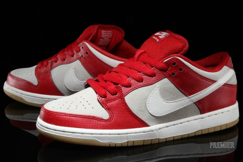 NIKE DUNK LOW PRO SB GYM RED