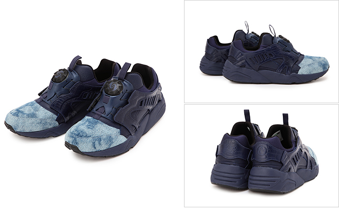 【7月17日先行発売】5525GALLERY x UNITED ARROWS & SONS BY PUMA DISC BLAZE 'INDIGO'