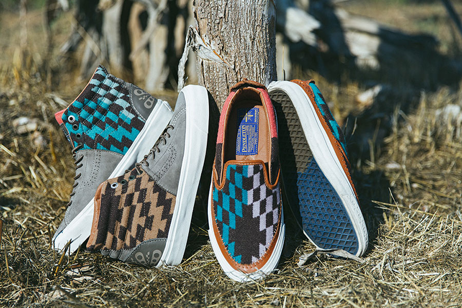 【11月28日発売】TAKA HAYASHI x VANS VAILT PENDOLETON COLLECTION