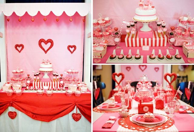 Pinterest for Valentine day dinner party ideas