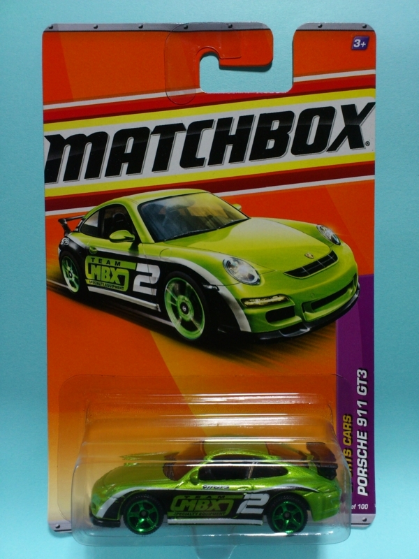 PORSCHE 911 GT3【MATCHBOX SPORTS CARS】