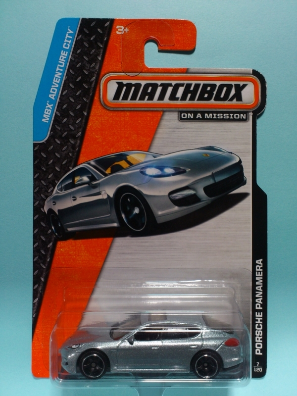PORSCHE PANAMERA【MATCHBOX MBX ADVENTURE CITY】