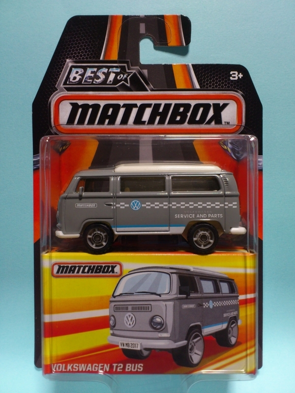 VOLKSWAGEN T2 BUS【BEST OF MATCHBOX】