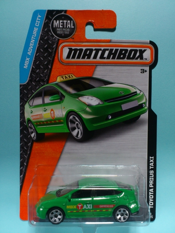 TOYOTA PRIUS TAXI【MATCHBOX MBX ADVENTURE CITY】