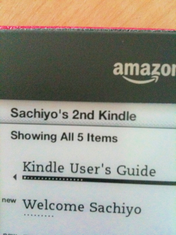 My 2'nd Kindle3