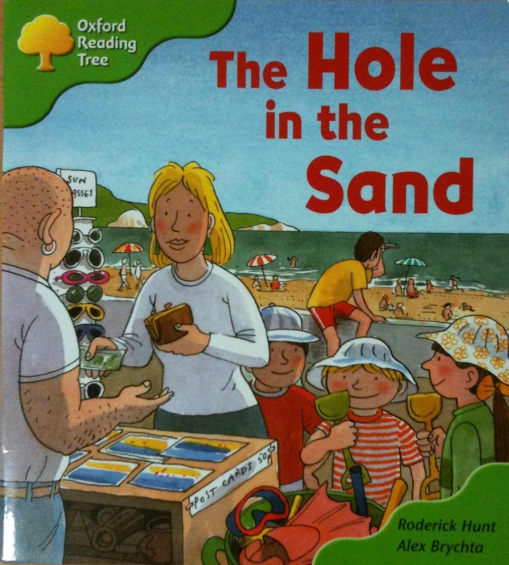 ORT The Hole in the Sand  #oyakoeigo