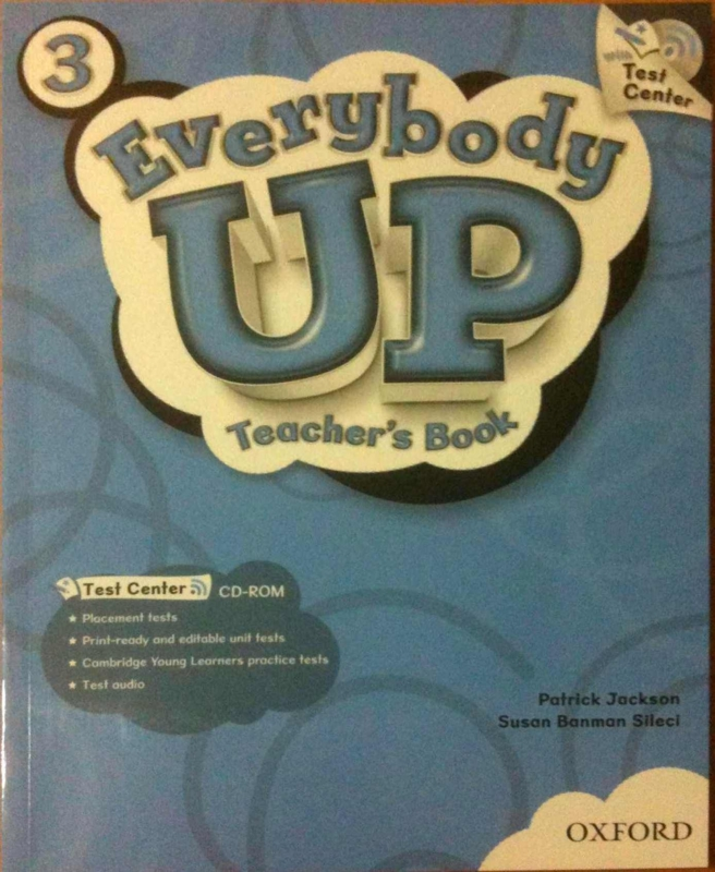 Everybody Up 3 Teacher's Book 今日納品〜 #oyakoeigo