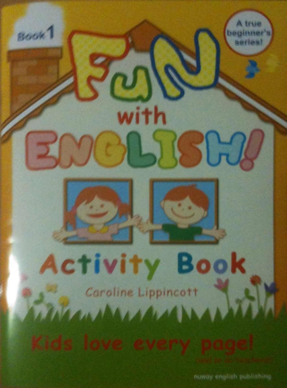 Fun with English (Workbook) も届いた!