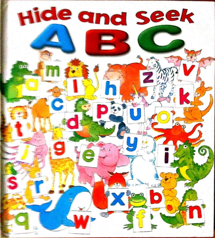 読み聞かせ Hide and Seek ABC  #oyakoeigo
