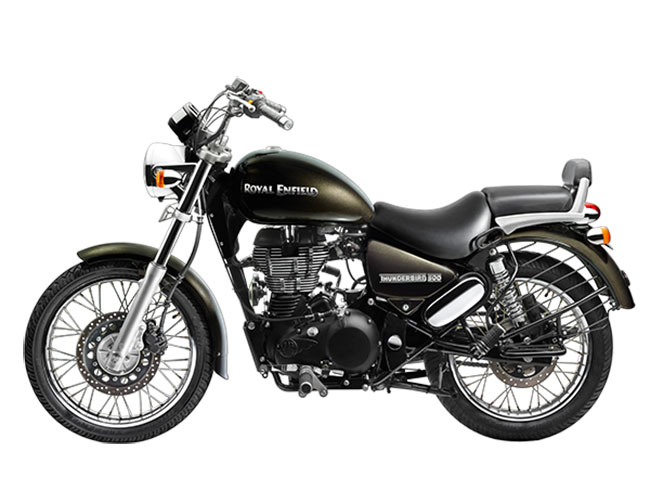 Royal Enfield Thunderbird 500 Left Side