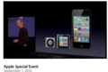Apple Special Event September 2010