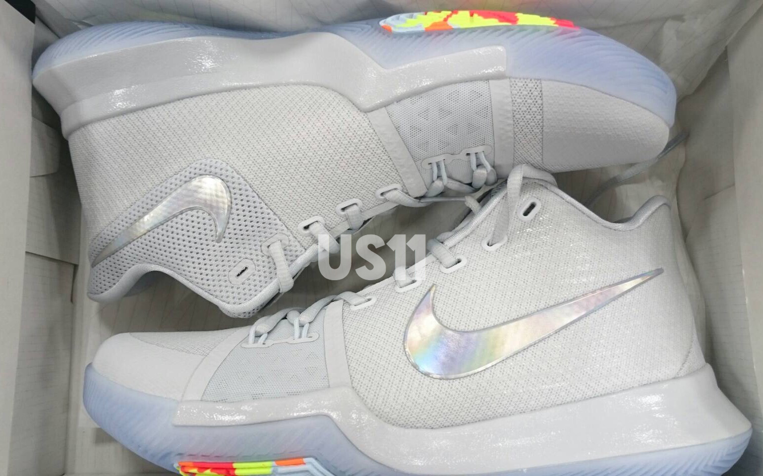 "new products 67062 cba28 Nike Kyrie 3 ""Time To Shine"""