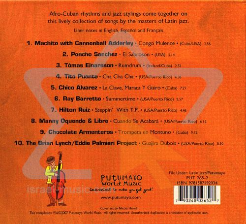Putumayo Presents Latin Jazz 79