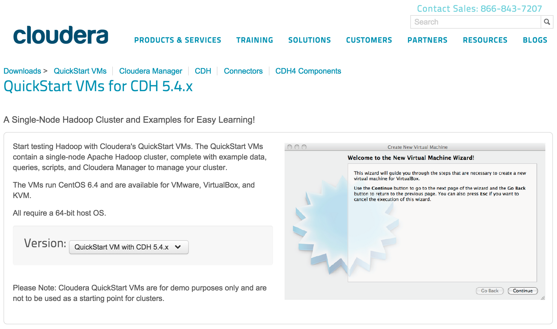cloudera cdh download