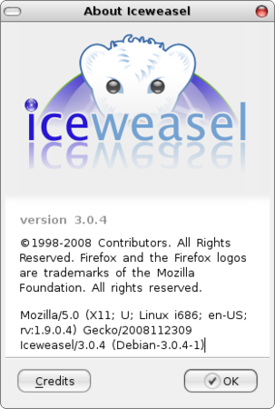 About Iceweasel