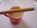 Smoking La EminenciaAfter Dinner with cafe au lait.ビトラよく見ずに買ってきたがた