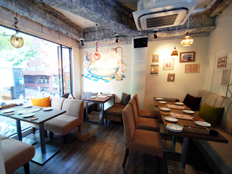 hole hole cafe and diner 道玄坂