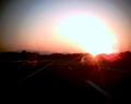 Expressway in evening sun  BY kzfe  VQ1015
