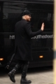 Arriving at the venue in Manchester 4-16-2016