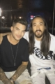Steve Aoki's snapchat: with Adam at Tove Lo's IHeart radio Sydney event 11-22-2016
