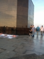 Queen and Adam woke up for the sunrise at Cristo Redentor (9-20-2015)