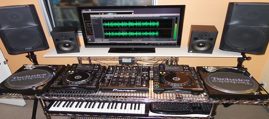 Swell Music Recording Studio Largest Home Design Picture Inspirations Pitcheantrous