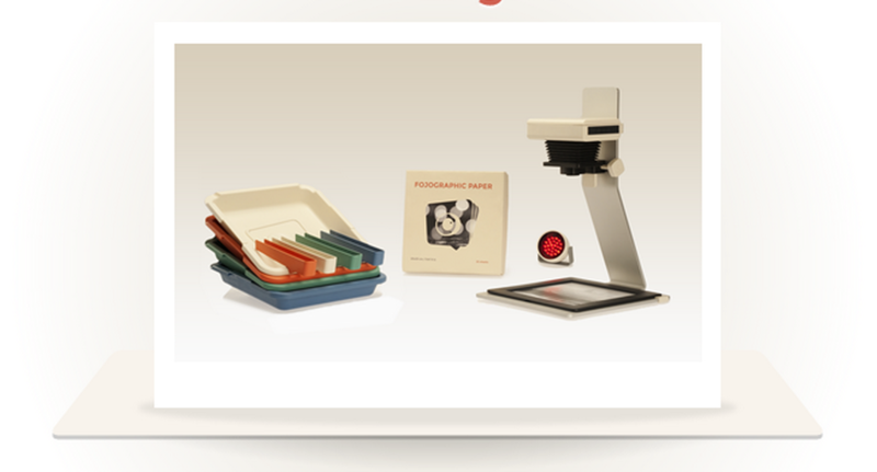 http://www.indiegogo.com/projects/enfojer-portable-smartphone-photographic-enlarger