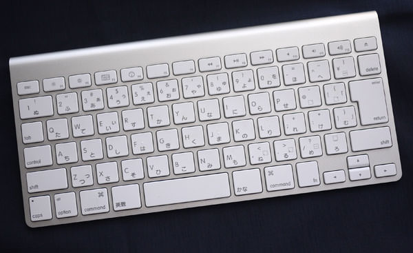 Apple Wireless Keyboard 全体画像
