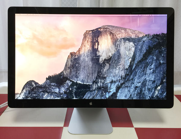 Apple Thunderbolt Display 27インチ 本体画像