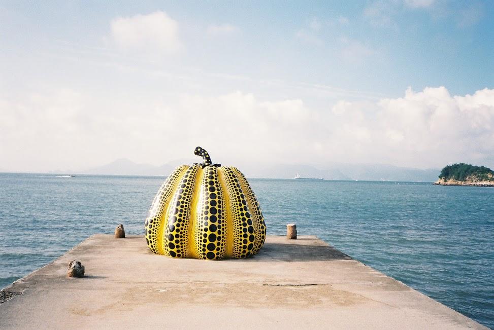 直島シンボルかぼちゃ