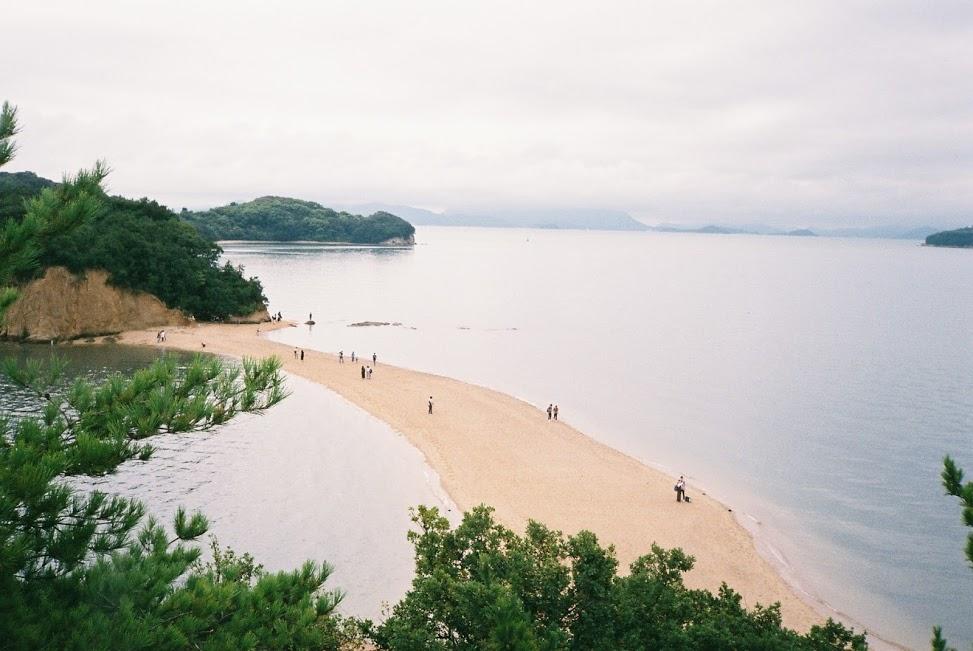 小豆島シンボルエンジェルロード