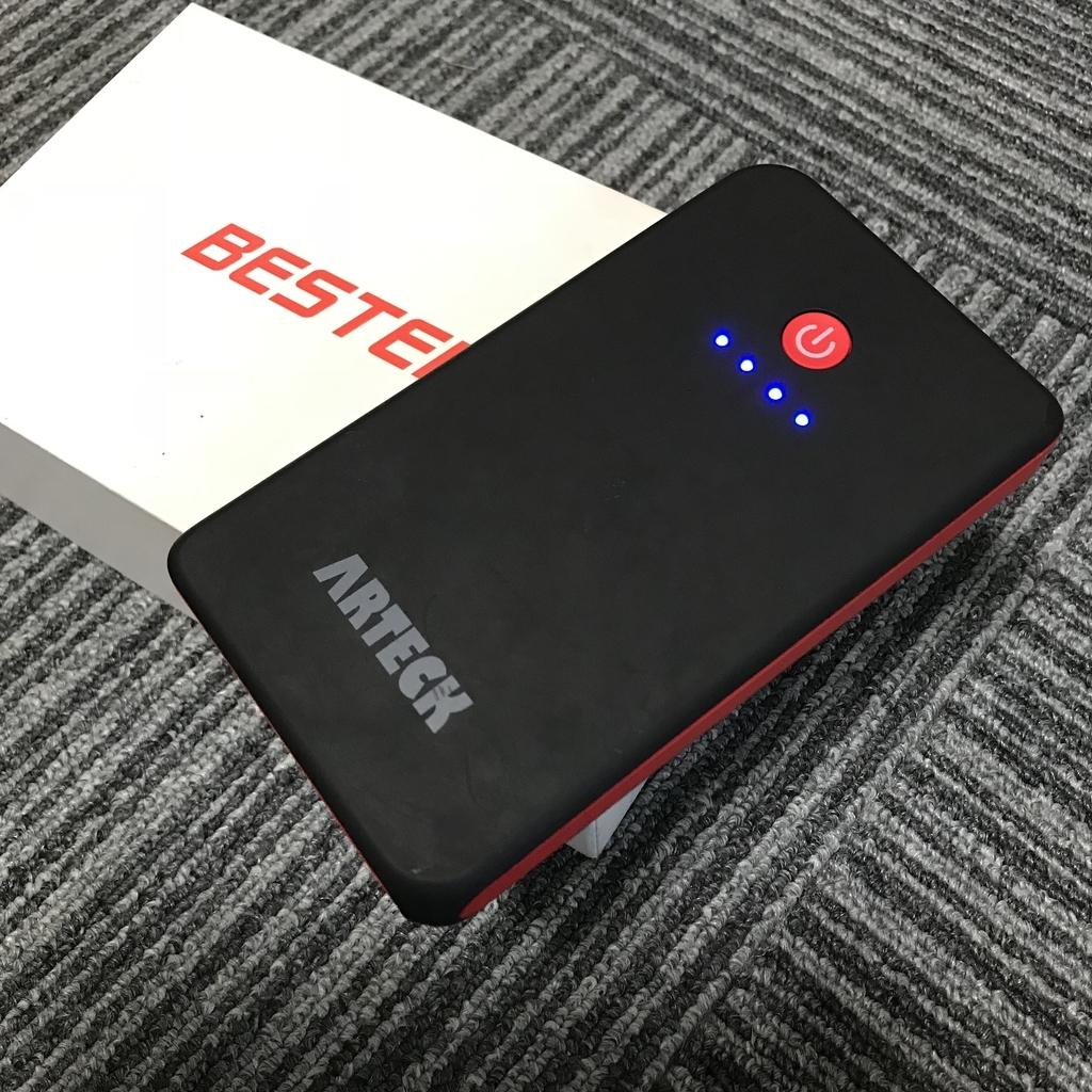 ARTECKモバイルバッテリー外観