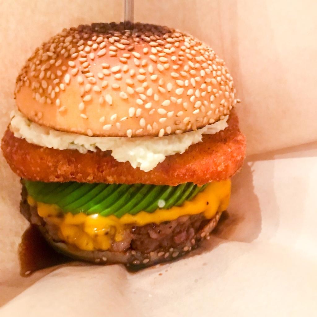 fledged burger アボチー+ハッシュドポテト