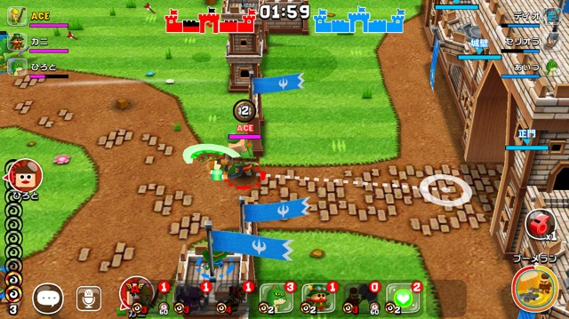 ガンビット:攻城バトル
