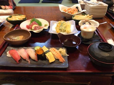 海鮮の郷いずみの料理